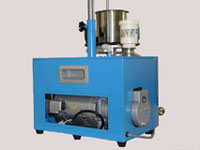 Vacuum pump is equipped in compact design.